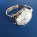 SEIKO Automaticにオリジナル時計ベルトを付けていただきました。