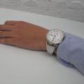 【ハミルトン カーキ ネイビー パイオニア】にオリジナル時計ベルトを付けていただきました。