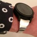 【Aark】にオリジナル時計ベルトを付けていただきました。