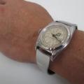 【ロレックス バブルバック】にオリジナル時計ベルトを付けていただきました