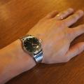 【オメガ シーマスター 600】にオリジナル時計ベルトを付けていただきました。