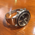 【フォルティス ストラトライナー】にオリジナル時計ベルトを付けていただきました。