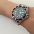 カシオ ダイバーズウォッチにオリジナル時計ベルトを付けていただきました。